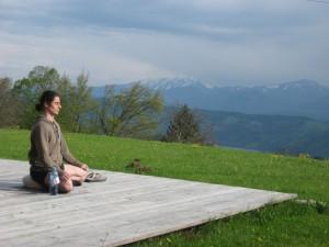 Meditation Natur